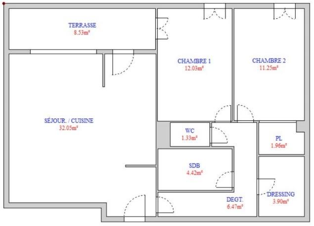Appartement - Marseille 13ème 13013